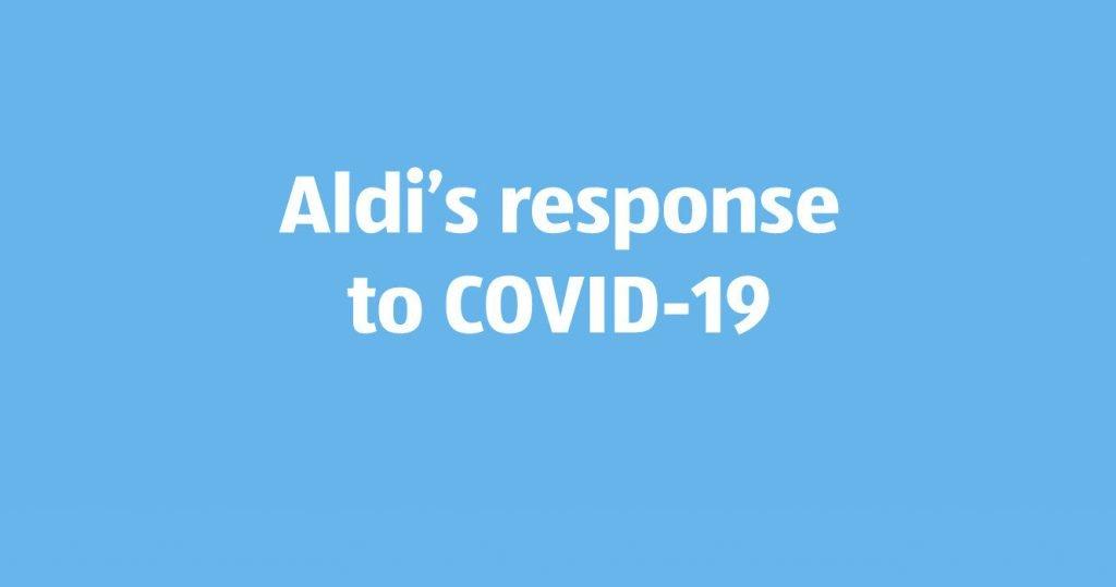 Frascati Centre Aldi Covid notice