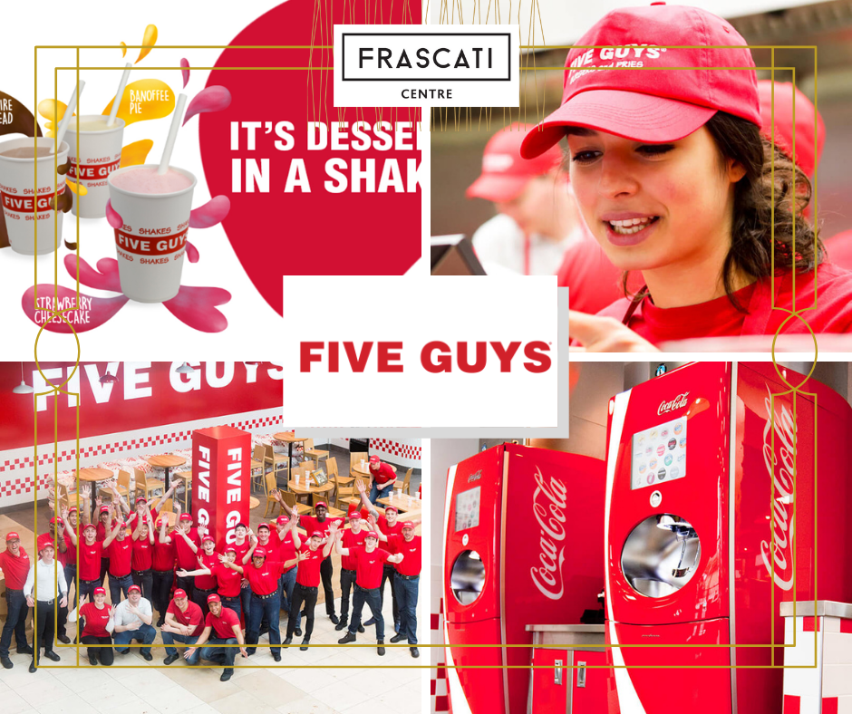 Frascati Centre Five Guys tenant image