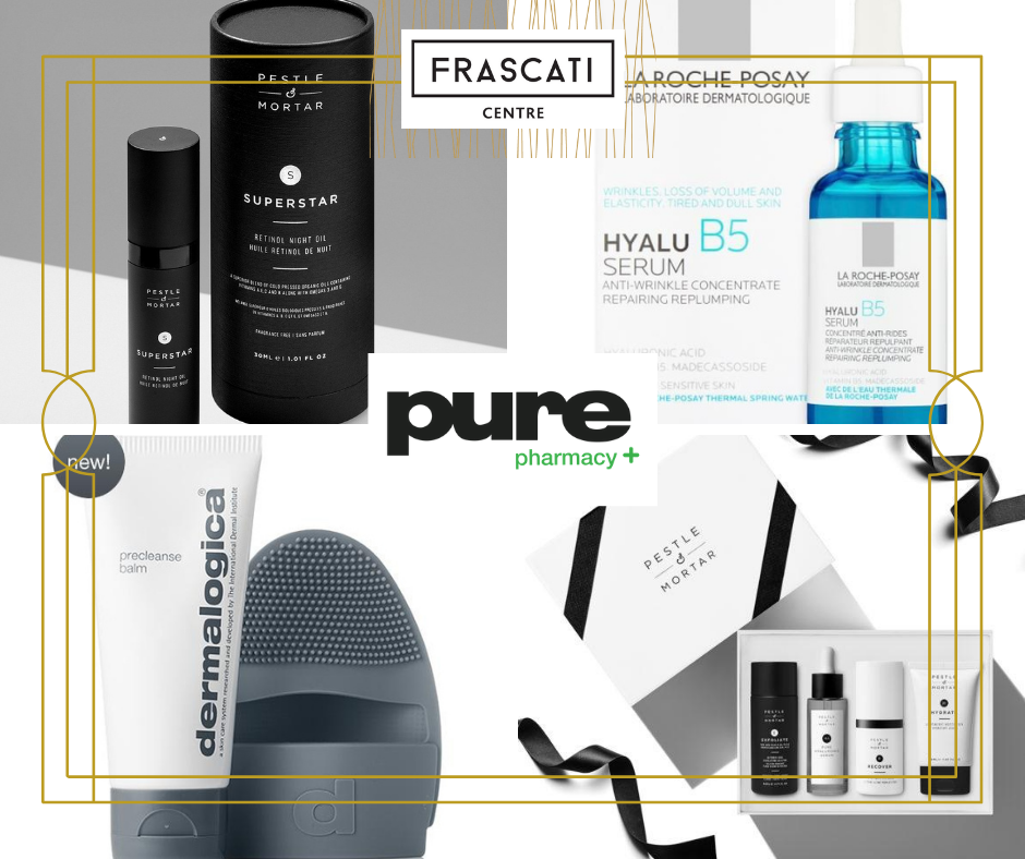 Pure Pharmacy Frascati Centre website tenant page