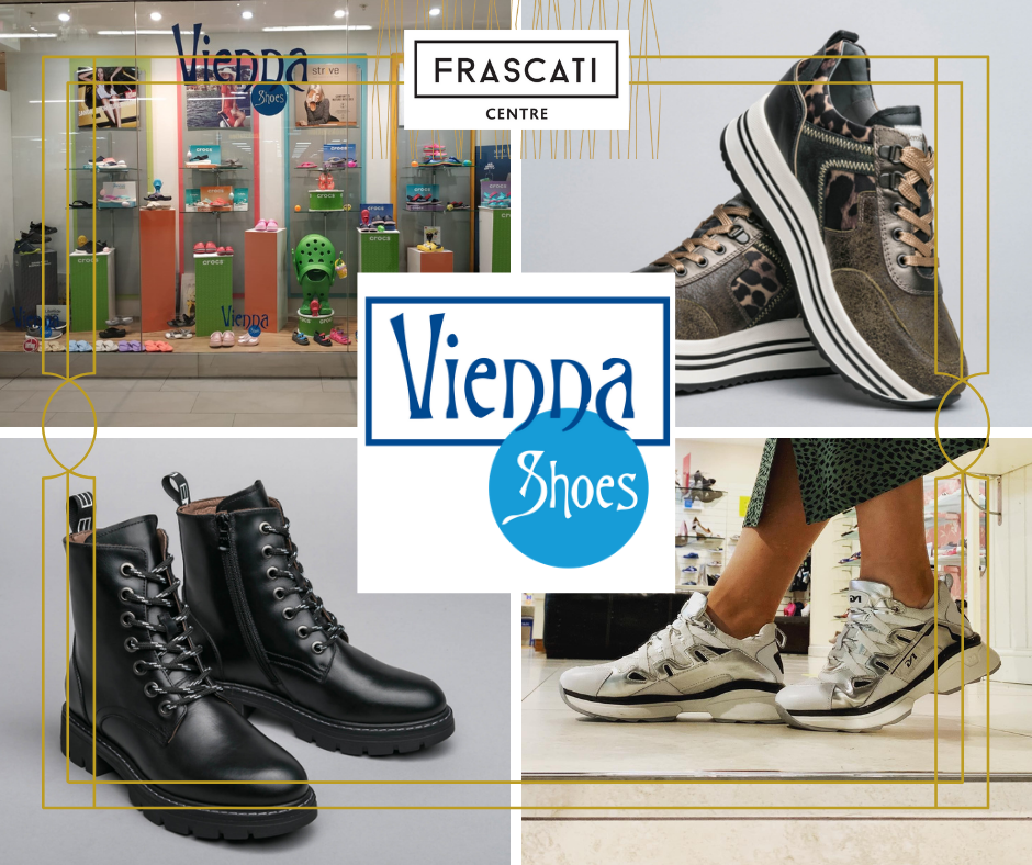 Vienna Shoes Frascati Centre website tenant page