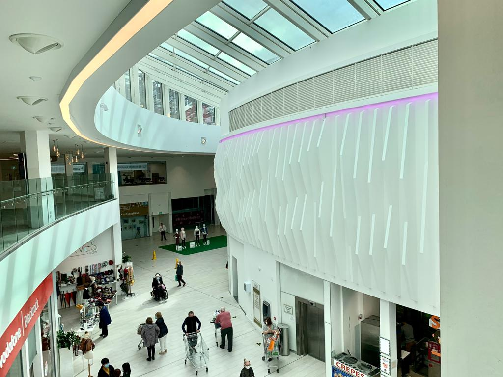 Frascati Centre atrium inside