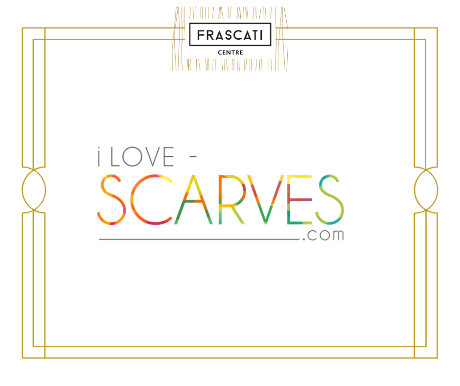 Frascati website I Love Scarves tenant page image