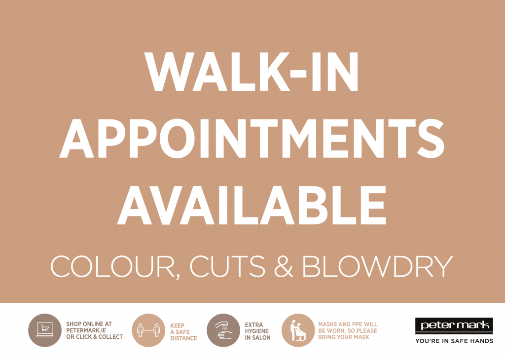 Peter Mark Frascati Centre walk in appointments available